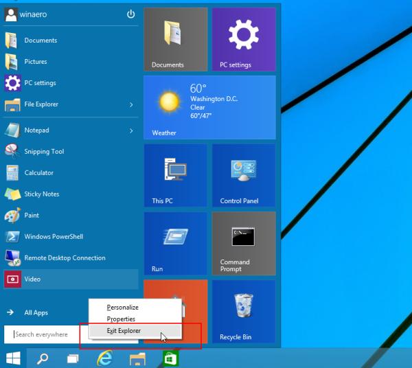 How to properly restart the Explorer shell in Windows